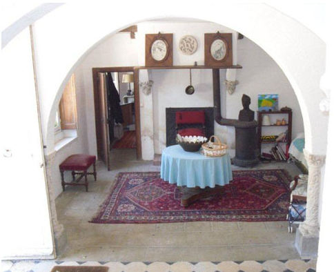 intérieur château